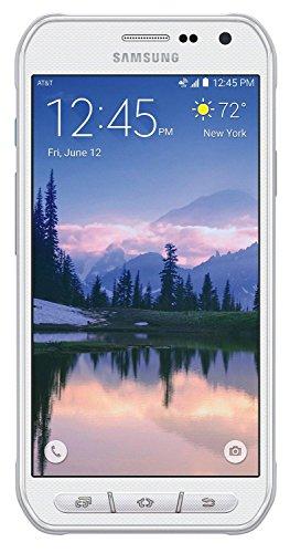 Samsung Galaxy S6 Active G890A 32GB Unlocked GSM 4G LTE Octa-Core Smartphone w/ 16MP Camera - Camo White (Renewed) (Samsung Galaxy S Sim Card Slot Repair)