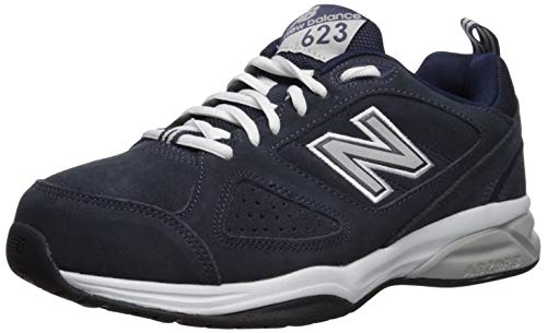 New Balance Men's MX623v3 Training Shoe, Navy, 7 W US