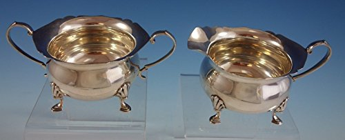 Sterling Silver Sugar and Creamer Set 2pc Colonial Style (#2597)