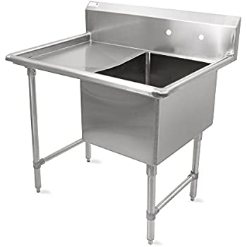 Amazon Com John Boos B Series Stainless Steel Sink 14