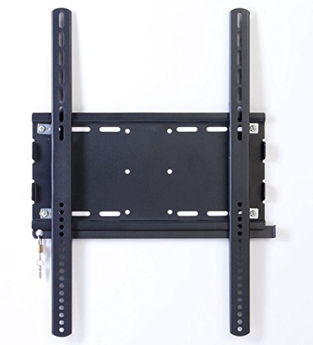 Displays2go LMWM640FBK 37-70 Inches Stationary TV Wall Mount for Vertically-Oriented Monitors - Vertical Bracket