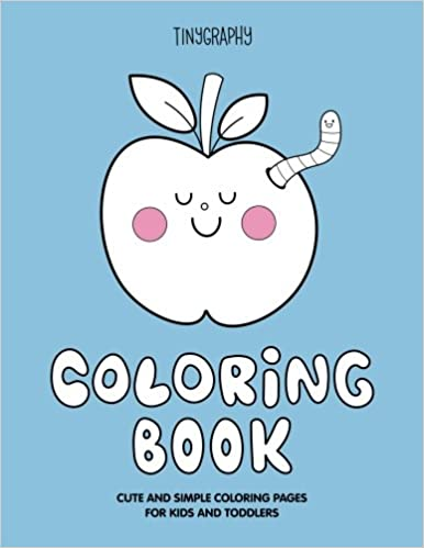 Cute & Simple Coloring Book: Cute and simple coloring pages for kids ...