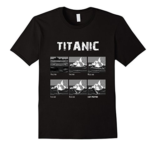 April 1912 Titanic Voyage Atlantic Ocean Ship History Tee