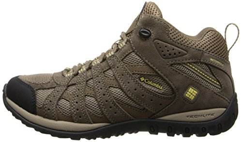 Columbia Women's Redmond Mid Waterproof Trail Shoe,Oxford Tan/Sunlit,11 M US by Columbia (Image #5)