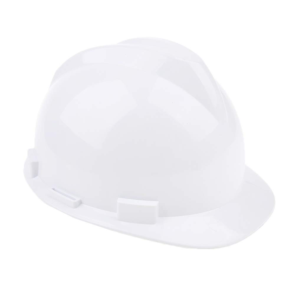 homyl Casco de protección Casco cabeza Protección Trabajo abbellimenti Gafas seguridad Auriculares, blanco