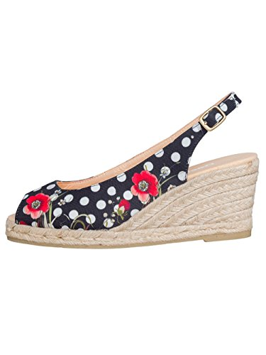 DESIGUAL® Femme Designer Peeptoe Chaussures - LALAINA - Nouvelle Collection -
