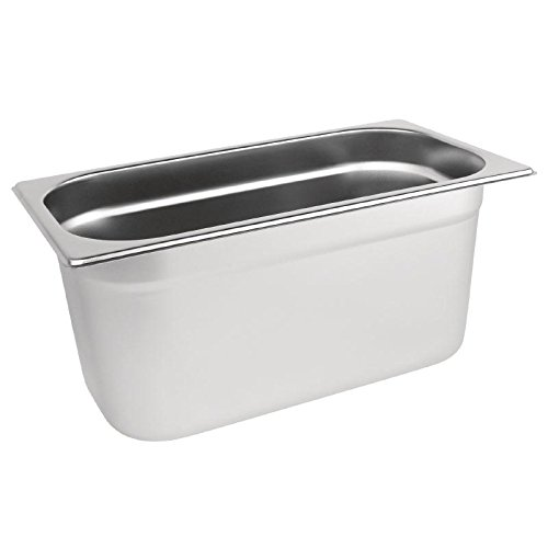 Vogue K934/stainless steel pan Gastronorm 1//3 150/mm