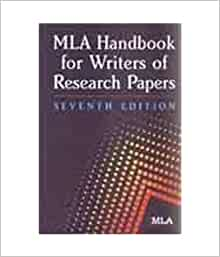 mla handbook for writers of research papers 2009
