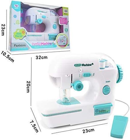 Accessaries coser Mini Máquina de coser eléctrica de juguete, la ...