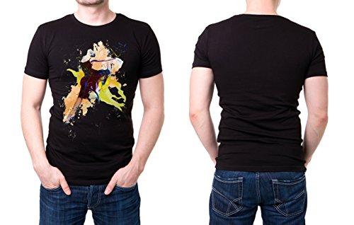 Ballett_III schwarzes modernes Herren T-Shirt mit stylischen Aufdruck