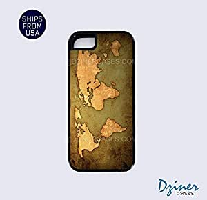 iPhone 5 5s Tough Case - Vintage World Map iPhone Cover