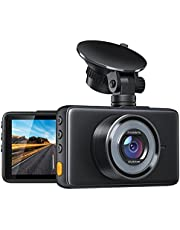 Dash Cam C450 1080P FHD DVR Car Driving Recorder, Dashboard Camera for Cars 3 Inch LCD Screen, 170° Wide Angle, WDR, G-Sensor, Loop Recording, Parking Monitoring, Motion Detection, Night Vision