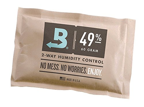 Boveda Guitar Musical Instrument Humidity Control Pack 49% RH (70 Gram) - Individually Over Wrapped