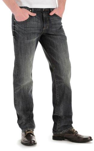 Lee Men's Modern Series Straight-Fit Jean, Snakebite, 32W x 32L