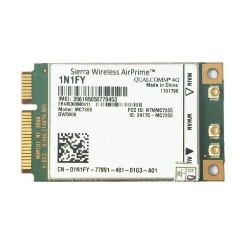 Mini Pci Modem - Dell MDM Mini PCI 1N1FY DW5808 4G LTE AirPrime Wireless Cellular Modem Mobile Broadband Card HF