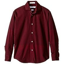 Calvin Klein Big Boys' L/s Gradient Stripe Shirt