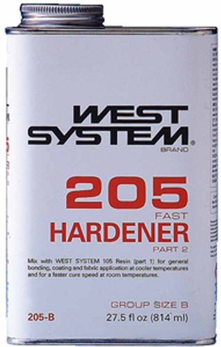 West System 205B Fast Hardener  86 Qt
