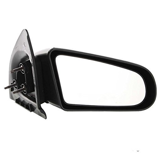 1991-1996 Saturn S Series (SC, SC1, SC2) 2-Door Coupe Manual Black paint to match Fixed Non-Folding Rear View Mirror Right Passenger Side (1991 91 1992 92 1993 93 1994 94 - Series Coupe Sc Saturn