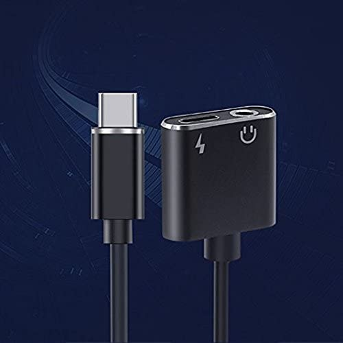 OWIKAR 2-in-1 Type C to 3.5mm Headphone Jack Adapter//Connector Charger Earphone Aux Audio /& Charge Adapter for Motorola MotoZ Letv Le Pro 3