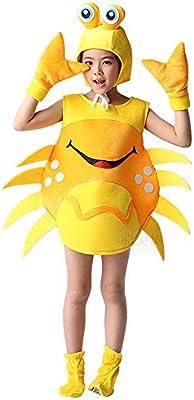 JJAIR Trajes de Cangrejo, niños y Adultos Disfraces Fun Food ...
