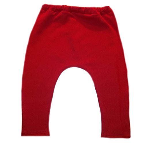 Costumes Preemie (Jacqui's Baby Girls' Red Leggings,)