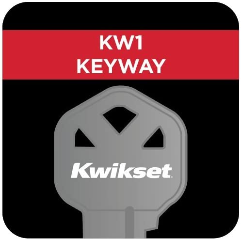 Kwikset Arlington Single Cylinder Handleset w/Lido Lever that includes SmartKey in Antique Brass