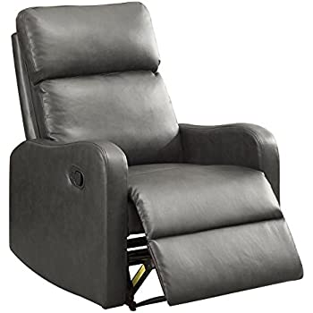 Amazon Com Bonzy Recliner Chair Leather Recliner Chair