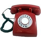 Cortelco 500RED Cortelco Rotary Phone Red