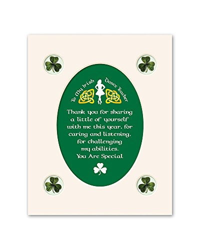 - Irish Blessing Step Dance Teacher Print Commemorative Gift WW173