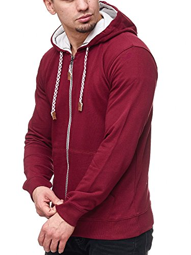Natal Capuche Sweatshirt Bordeaux Hoodie Homme Pullover Indicode À Sweat xgZ0wUwq4
