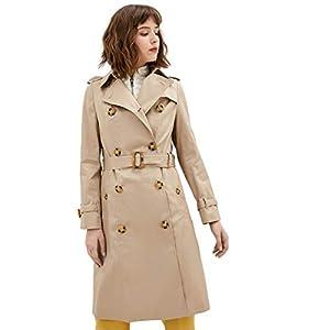 Trench Coats for Women Lightweight Windbreaker Fall Jacket Gabardinas de Mujer