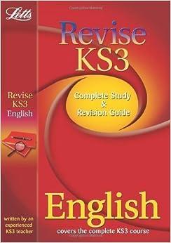 Book Letts Revise KS3 - English of VARIOUS on 01 September 2010