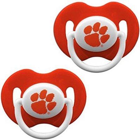 Amazon.com: NCAA Clemson Tigers 2 Pack Chupete: Baby