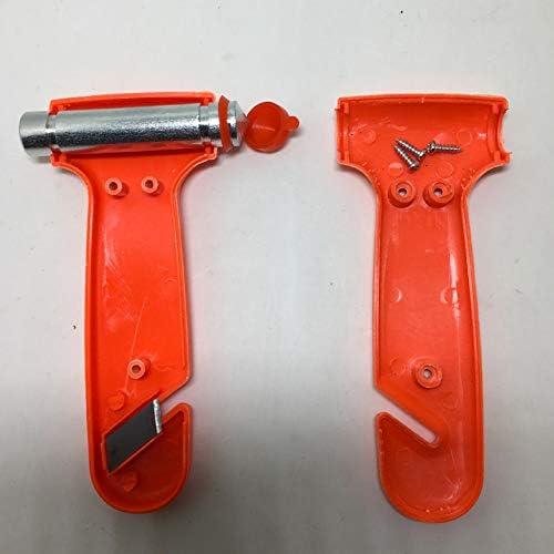 Scelet Marteau de s/écurit/é Auto antid/érapante Window Punch Coupe-Circuits Auto Rescue Disaster /évasion Outil Marteau Brise-vitre.
