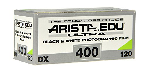 Arista EDU Ultra 400 ISO Black & White Film, 120