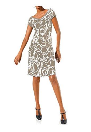 da International Bodyforming Beige Abito Di Class Bianco Naturale donna 54qvnF