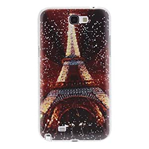 Shining Tower Pattern Hard Case for Samsung Galaxy Note 2 N7100