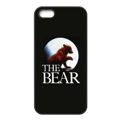 T6Z79 The Bear Haute Résolution Affiche Z5Z1OP coque iPhone 4 4s cellule de cas de téléphone couvercle coque noire XD4UFU6KK