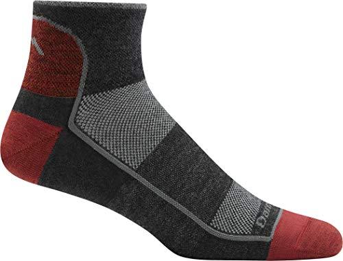 Darn Tough Men's Merino Wool 1/4 Ultra-Light Athletic Socks - 6 Pack Special, DTV XL
