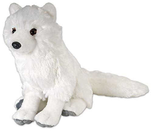 Eskimo Brothers Costumes - Wild Republic Arctic Fox Plush, Stuffed