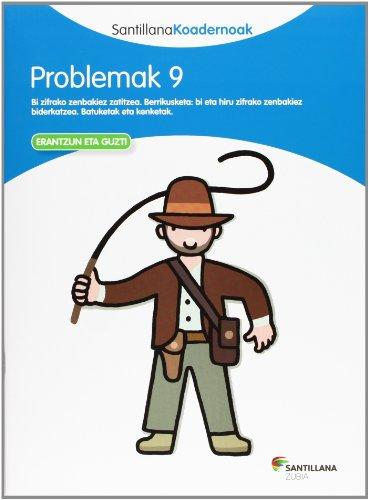 Problemak 9. Koadernoak matematikako