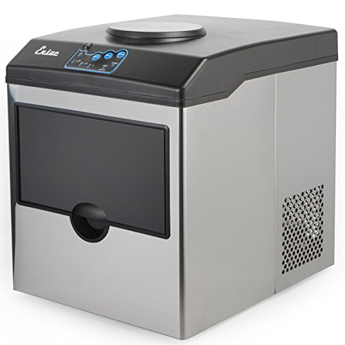 Ensue Ice Cube Maker Machine, Stainless Steel Counter Top, P