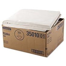 KIMBERLY CLARK CONSUMER 35010 WYPALL X60 Towels, Flat Sheet, 22 1/2 x 39, White, 100/Box, 3 Boxes/Carton