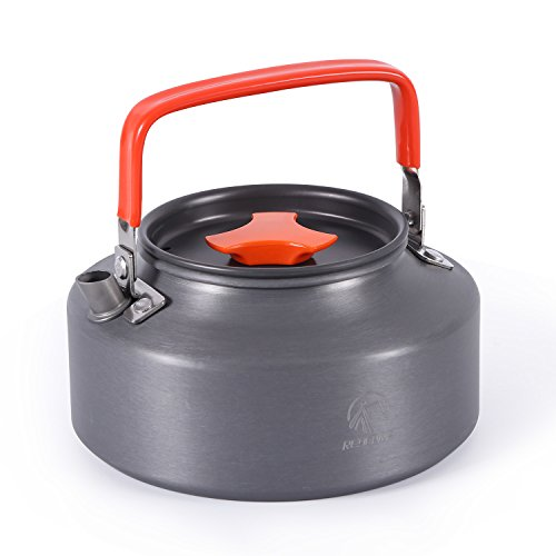 Aluminum Kettle - REDCAMP 1.1L Aluminum Camping Kettle Teapot,Compact and Lightweight