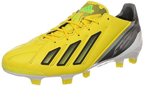 Mens Adidas F50 AdiZero TRX FG Leather Soccer Cleats new, Yellow G65302 sz 11