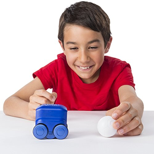 41l9OfpLSqL - Boxer - Interactive A.I. Robot Toy (Blue) with Personality and Emotions, for Ages 6 and Up