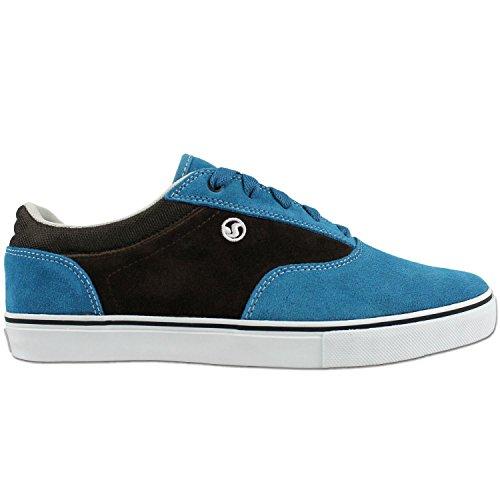 DVS Skateboard SHOES Zered 3 Slate/Brown Suede OG Size 12
