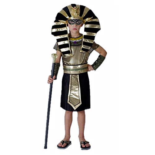Party Diy Decorations - Halloween Costumes Boy Girl Ancient Egypt Egyptian Pharaoh Cleopatra Prince Princess Costume - Cleopatra Queen Girl And Fire Jewelry Egypt Wolf Statue Ancient -