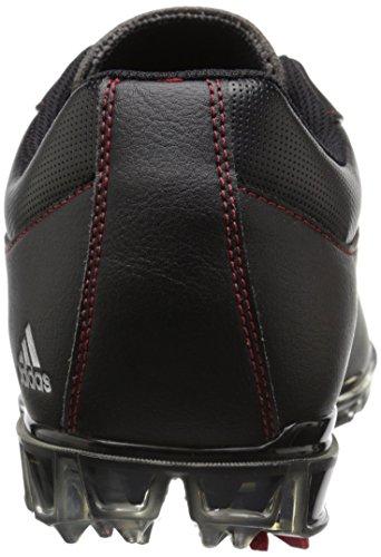 adidas Mens Adipure Flex Golf Shoe Core Black/White/Power Red X8ufQwu4o