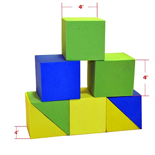 Giant foam building blocks building toy for girls and for Foam block house construction